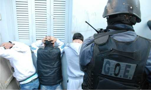 Policía antinarcóticos desarticuló red en Pilar y cuatro localidades.