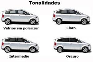 polarizados - Tonalidades