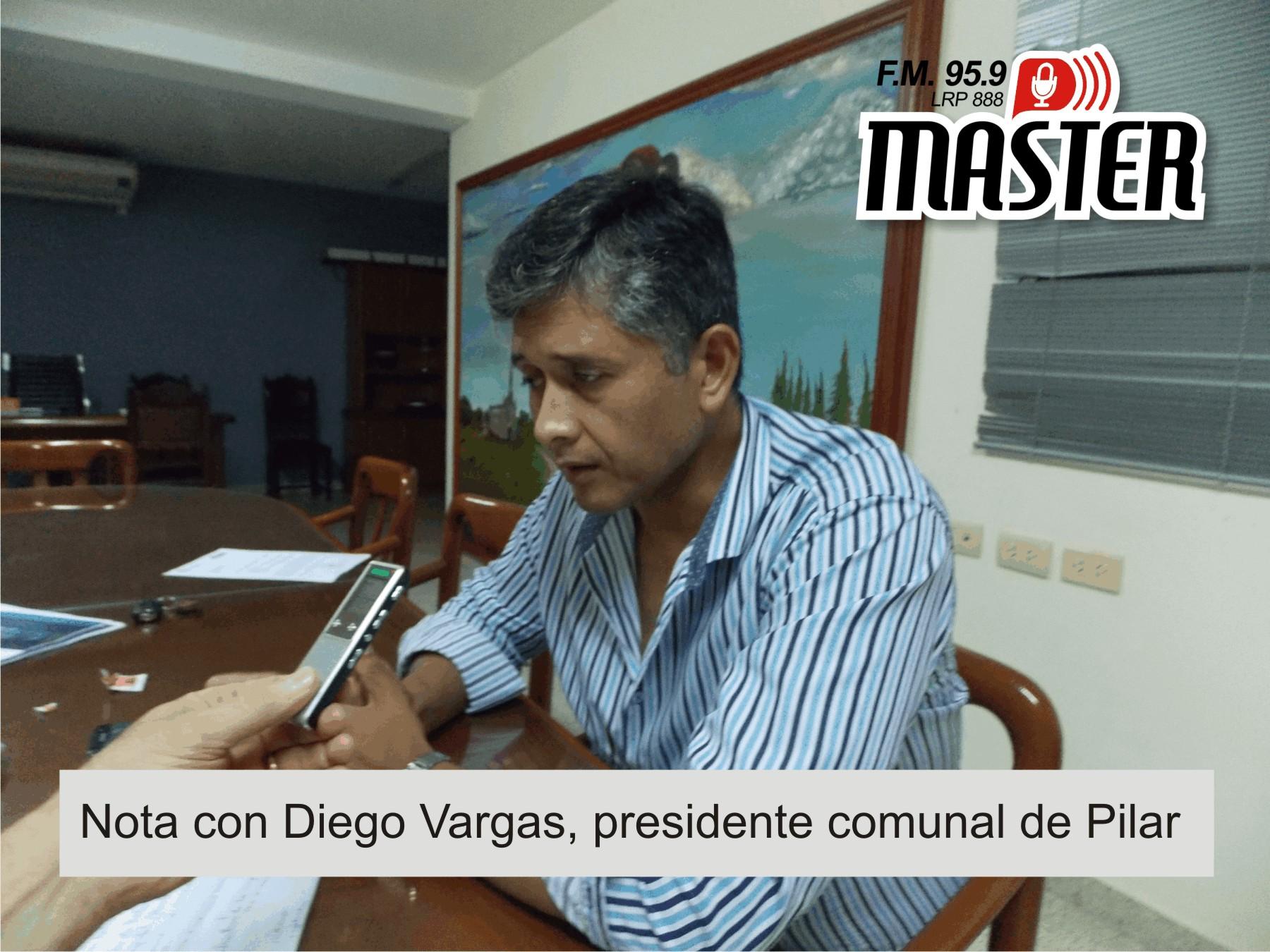 Hablamos con el Pte. Comunal, Diego Vargas