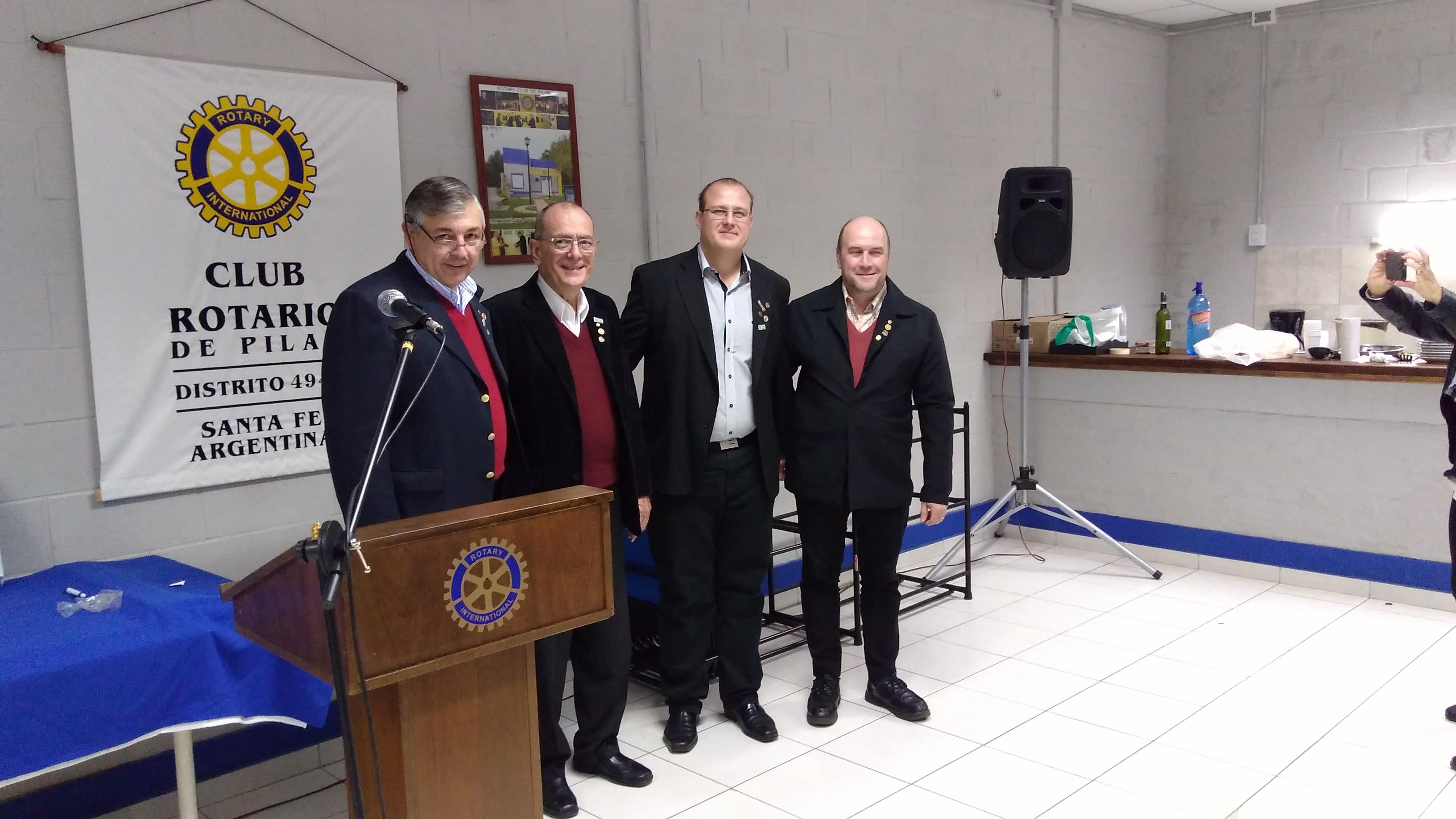 Asamblea y cambio de autoridades en el Rotary Club de Pilar