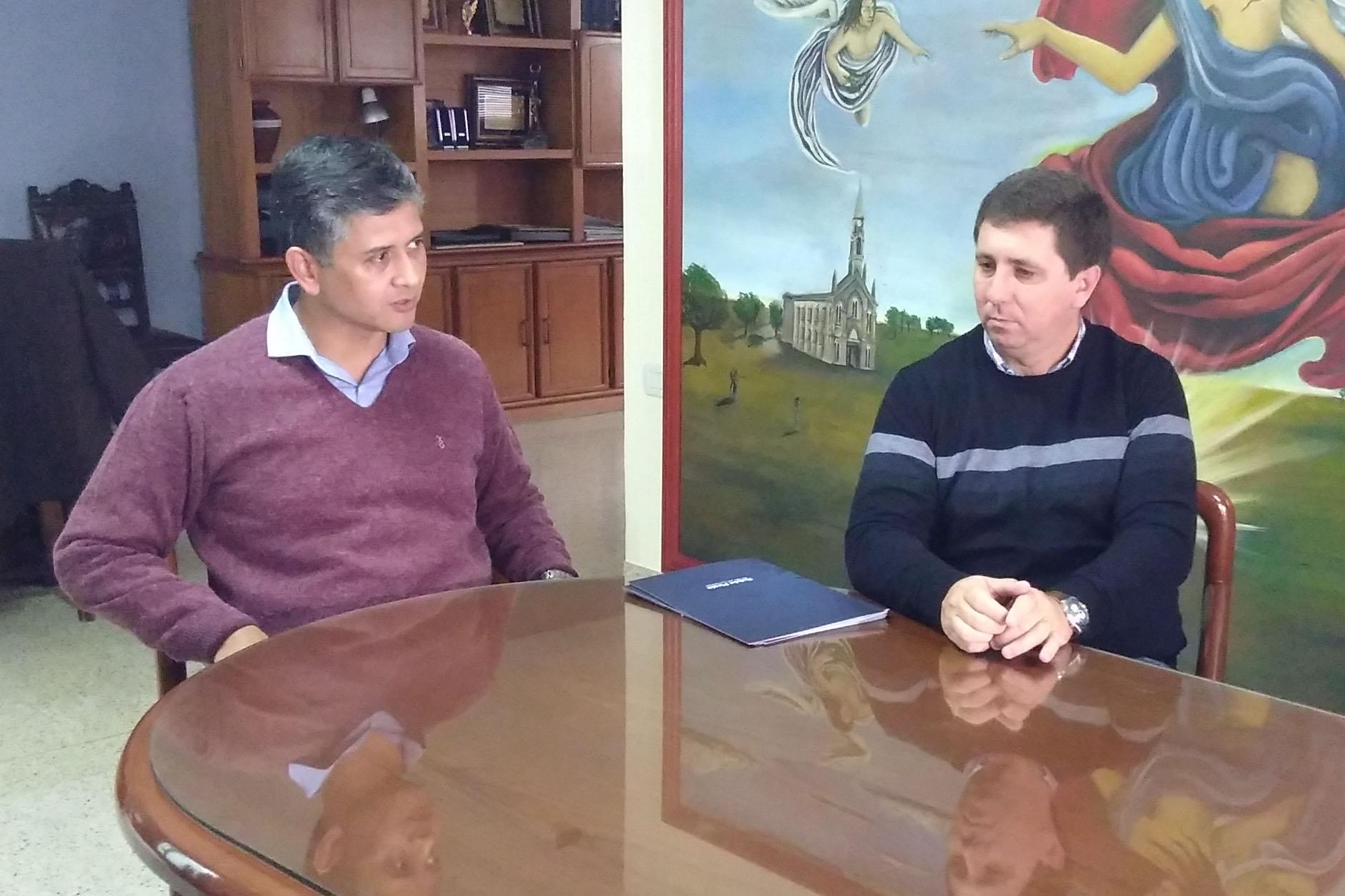 Diego Vargas, Presidente Comunal y candidato a la Re-Elección