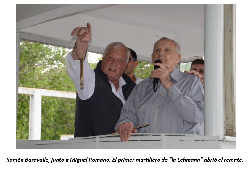 A 65 años de su primer remate, la Cooperativa Guillermo Lehmann concretó una gran y emotiva subasta