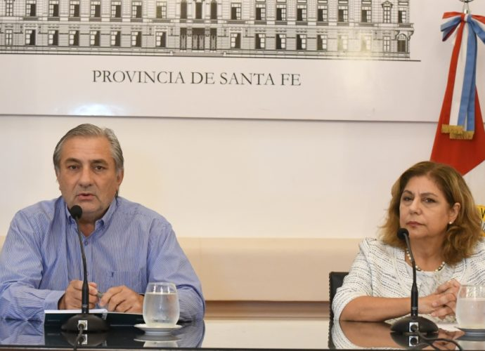 Ministro Miclhig y Sec Martorano